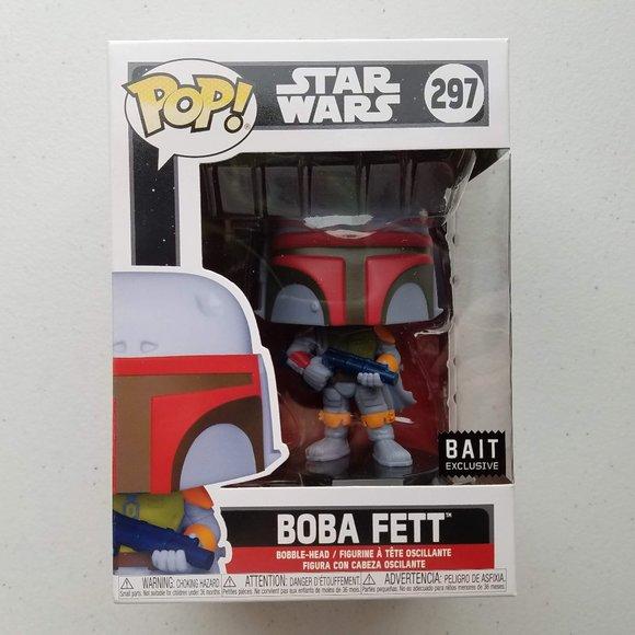 Funko Pop! Boba Fett Bobble-Head BAIT Exclusive
